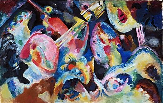 Light  by Wassily Kandinsky   Giclee Canvas Print Repro