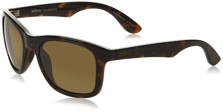 b3b778d0dc Revo Unisex RE 1000 Huddie Wayfarer Polarized UV Protection Sunglasses