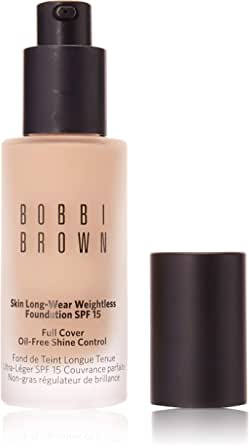 Bobbi Brown Skin Long-Wear Weightless Foundation SPF 15, 1 Warm Ivory, 30 ml