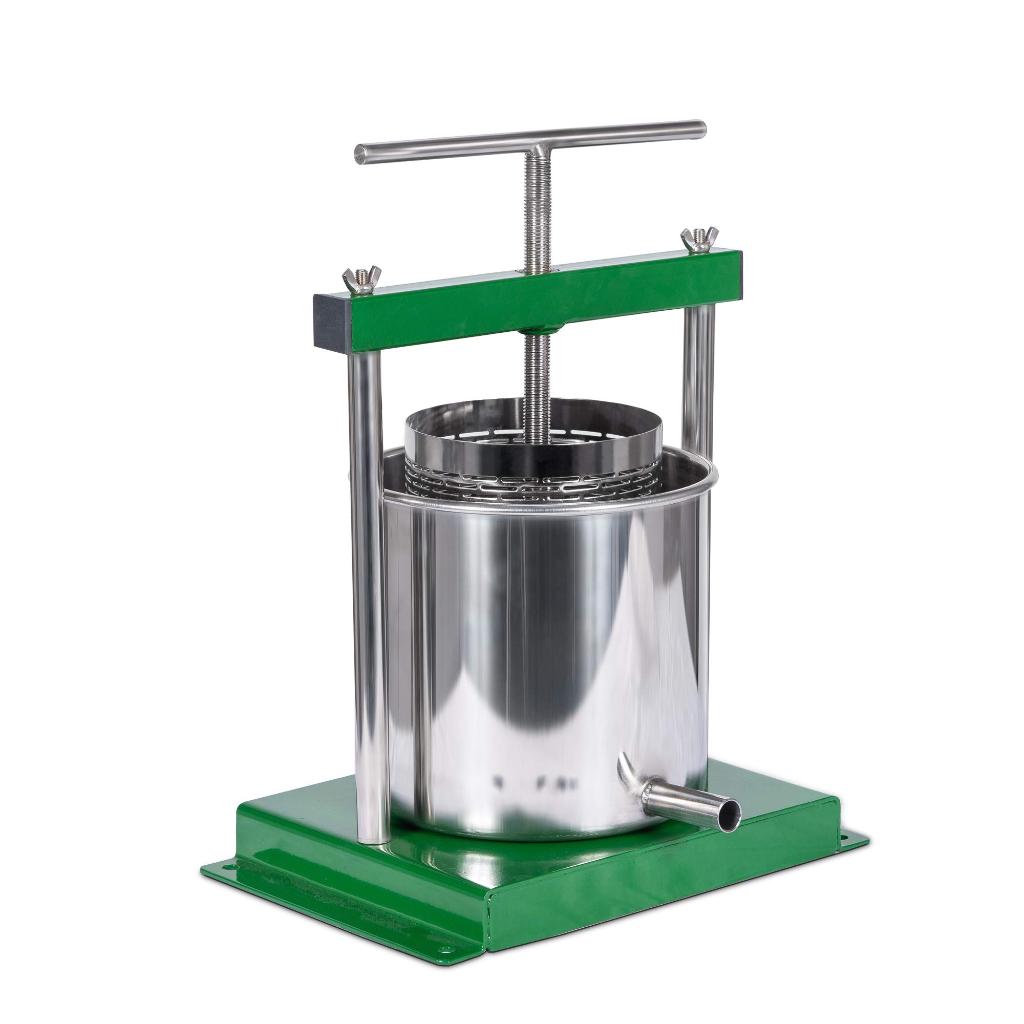 4.3 Liter (1.25 Gallon) Cider, Wine, Grape, Apple Press, For Apple Cider, Wine and Cider Making, Chose Size by Montimax