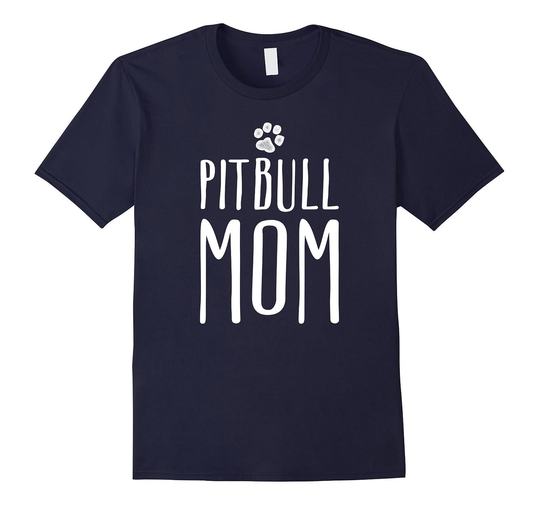 Pitbull Mom Shirt - Pitbull Terrier Gifts-ah my shirt one gift