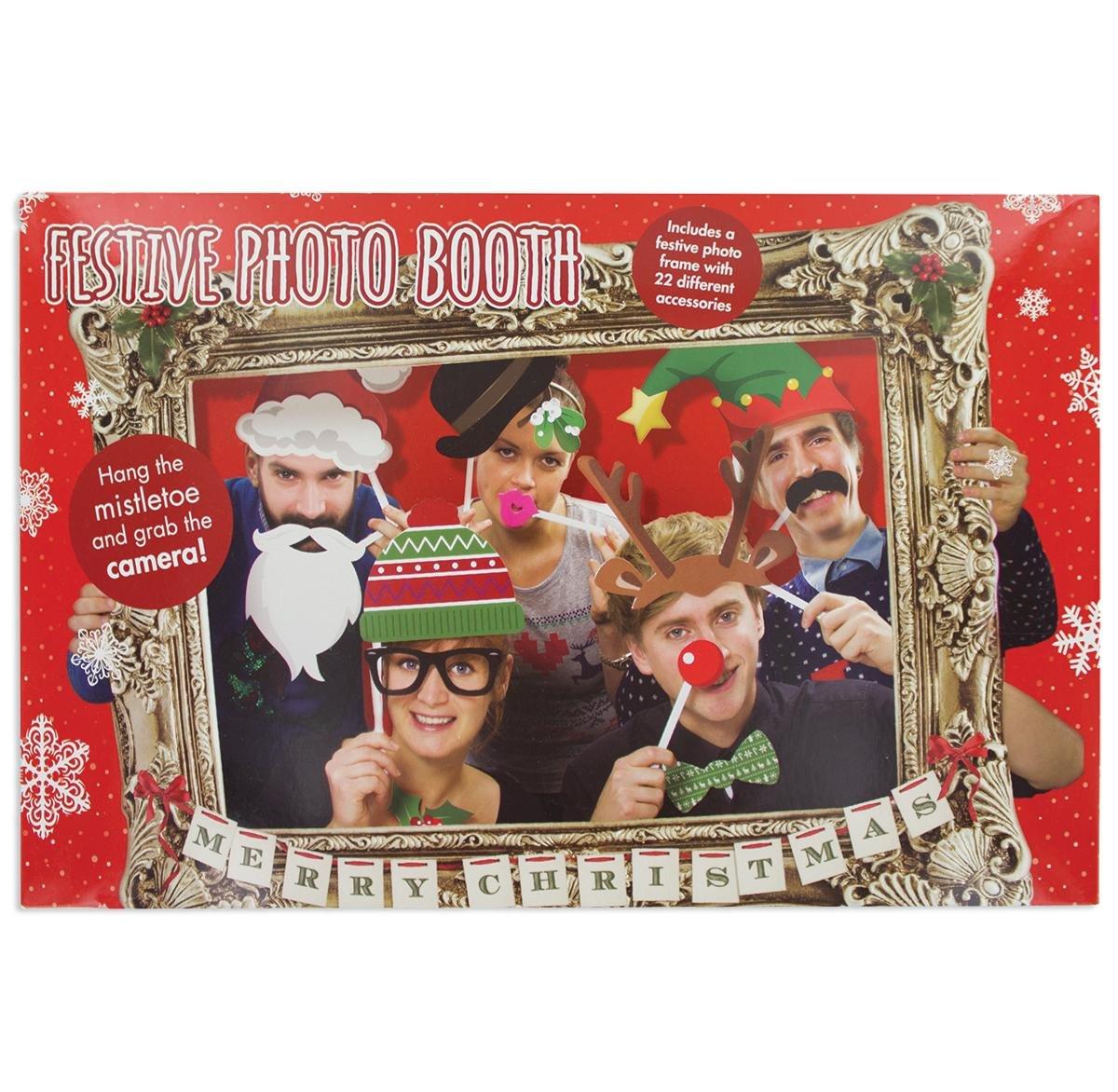Paladone X-Mas Photo Booth Requisite Bilderrahmen Weihnachten ...