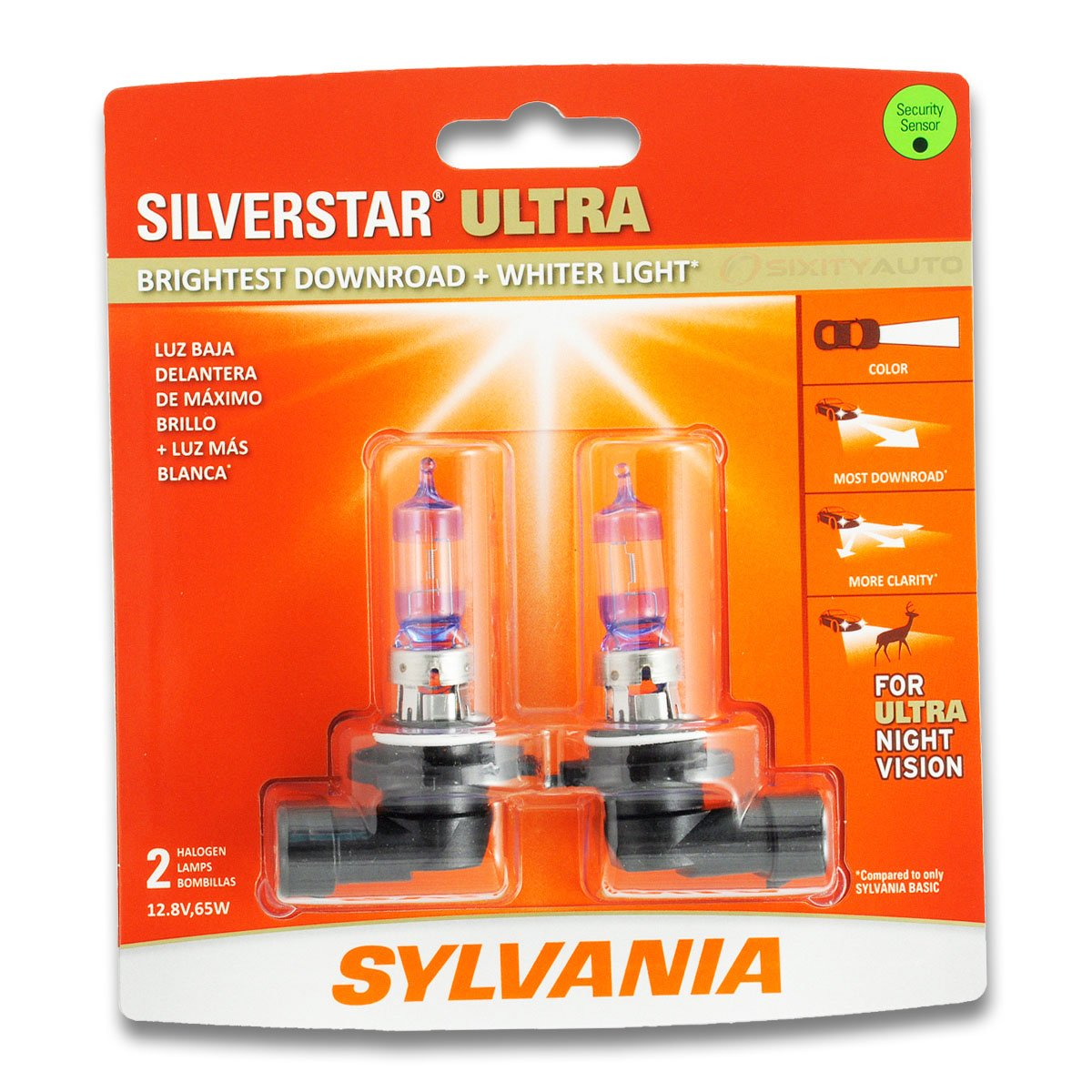 Amazon.com: Sylvania SilverStar Ultra High Beam Headlight Bulb for Ram ProMaster City 1500 2500 3500 2011-2016: Automotive