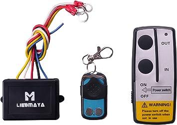 Amazon.com: LIEBMAYA Wireless Winch Remote Control Kit for Truck Jeep ATV  SUV 12V Switch Handset: Home ImprovementAmazon.com