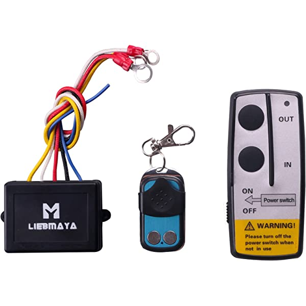Wireless Winch Remote Control Handset Switch,9-30V,for Truck Jeep ATV Warn Winch