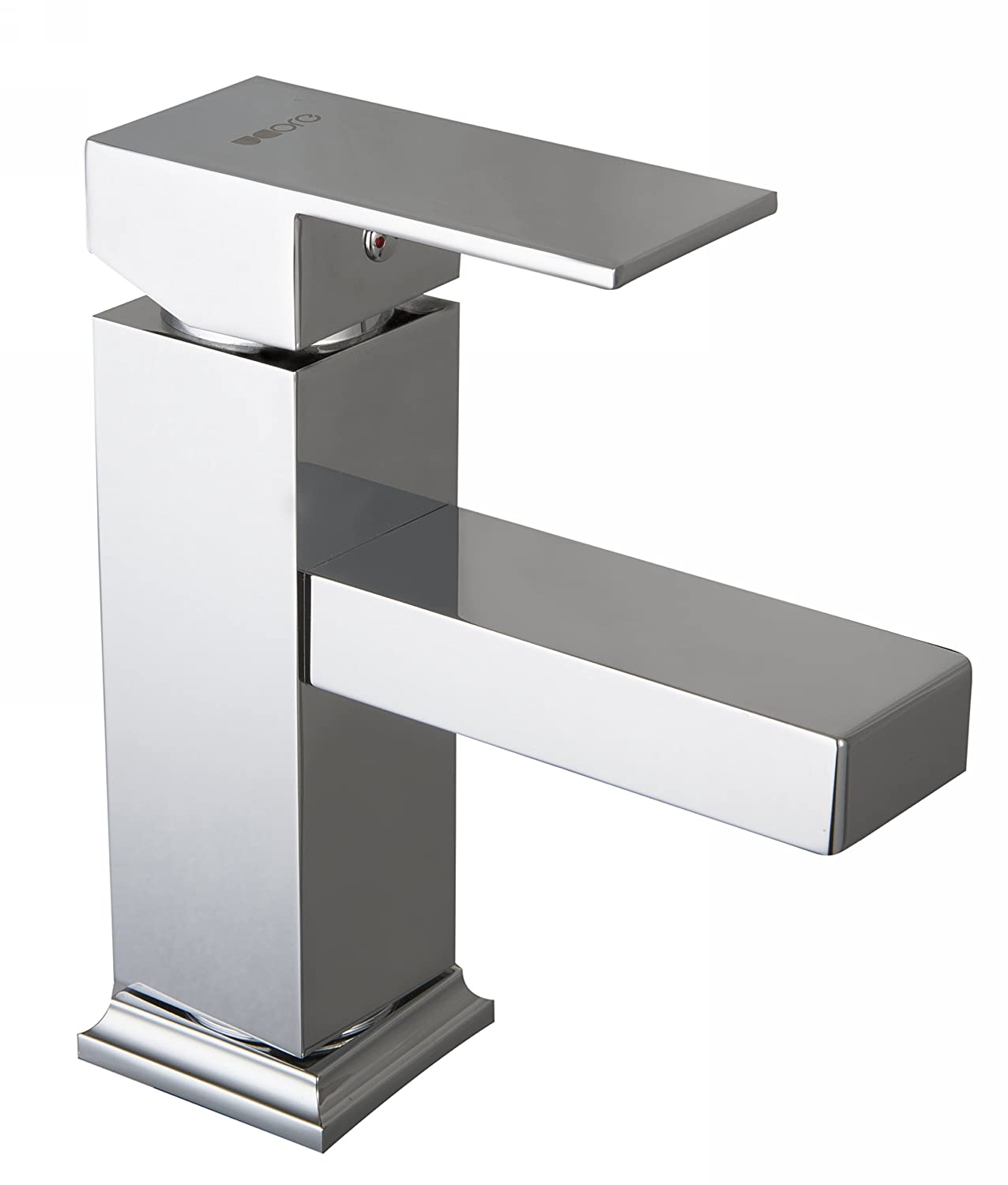 8.78 by 4.84 by 10.83-Inch Ucore Basin Mixer Faucet Silver Ucore Inc UFC11PS0012