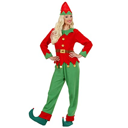 WIDMANN LIBROLANDIA - Disfraz de Navidad adultos, talla UK 14-16 (S/88993)