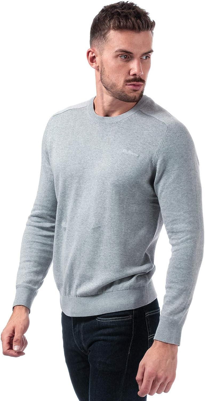 Ben Sherman - Jersey para hombre, color gris