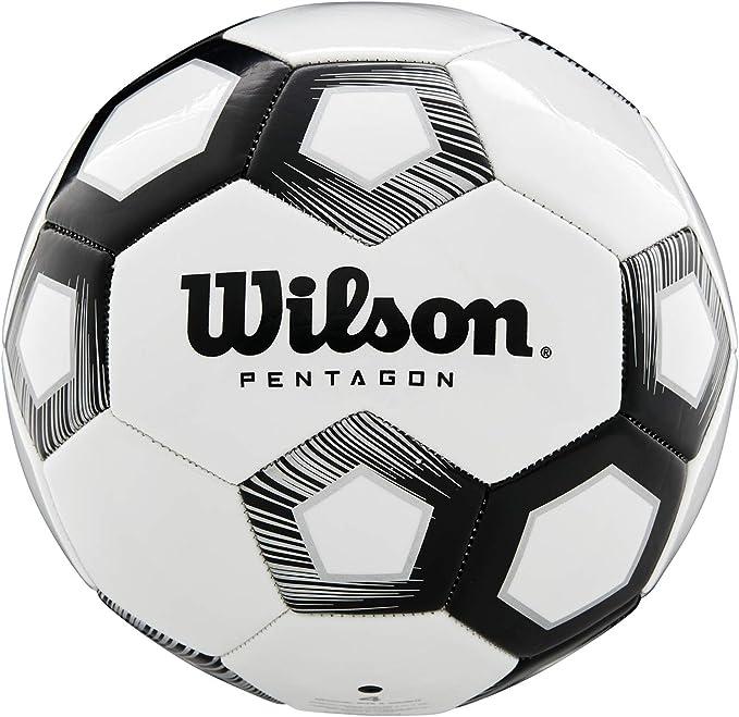 Wilson Balón de Fútbol, Pentagon, Diseño de 30 Paneles, Acolchado ...