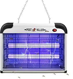 Indoor Bug Zapper for Home Mosquito,2800V 20W Electric Bug Zapper Plug In,Fly ZapperLamp,Mosquito Zapper Repellent,Fly Killer Light,Flying Insect Traps Pest Repeller for Home,Bedroom, Kitchen,Office