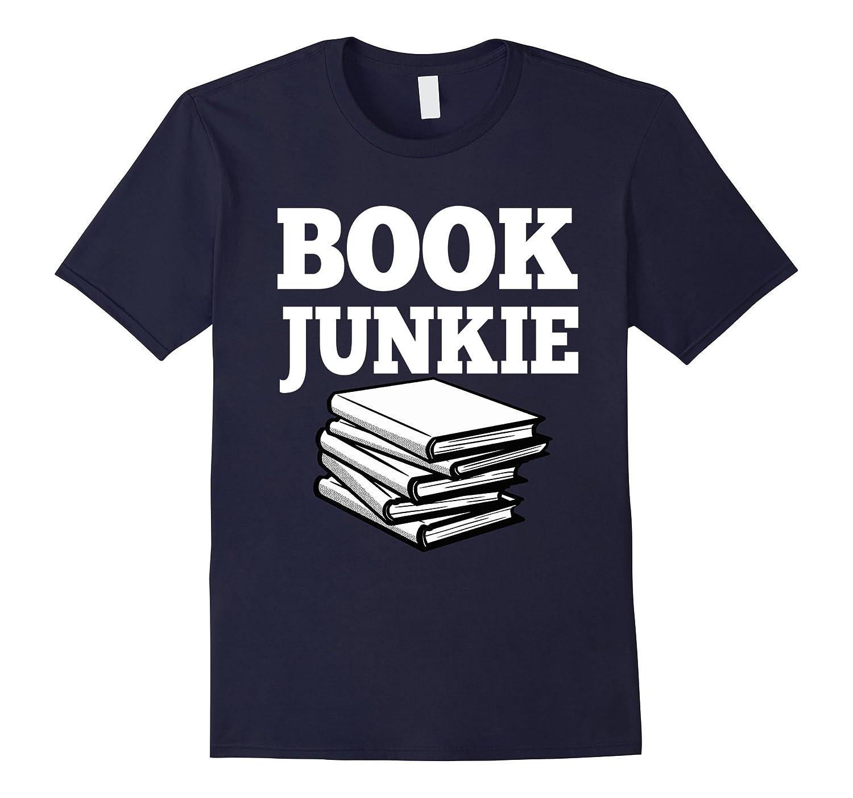 Book Junkie Readers T-Shirt-CD