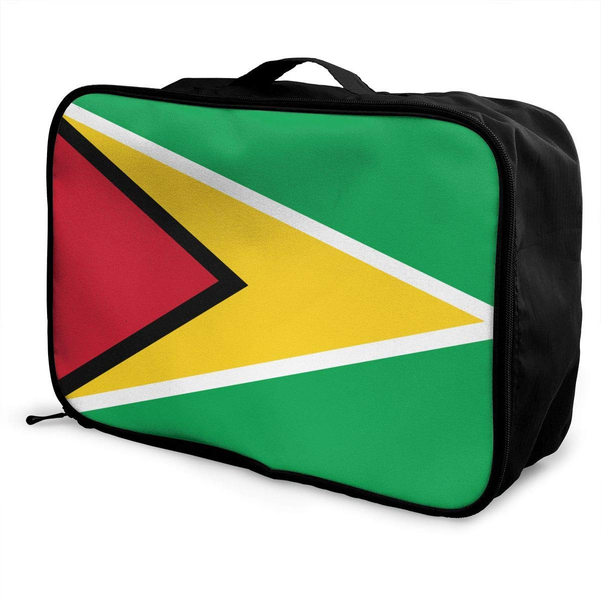 Portable Luggage Duffel Bag Guyana Flag Travel Bags Carry-on In Trolley Handle