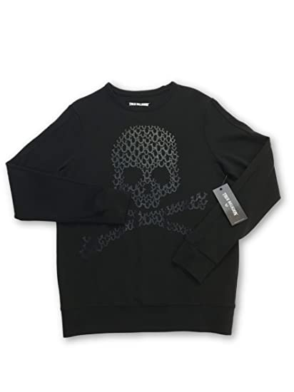 ba51445b3 True Religion Sweatshirt in Black Size M Cotton  True Religion   Amazon.co.uk  Clothing