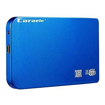 Transmisi/ón R/ápida de Almacenamiento de Datos Estado S/ólido Disco Duro de Alta Velocidad USB 3.0 de 2,5 Pulgadas para PC 500GB