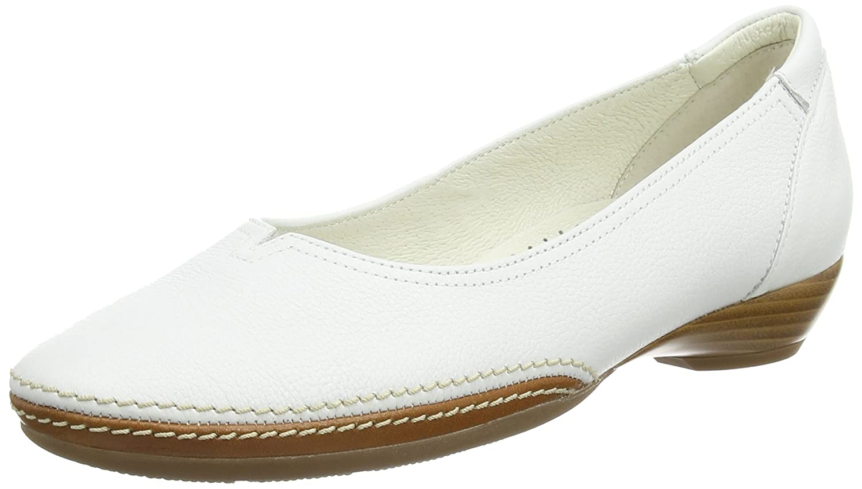 Weiß (Weiß Leather) Gabor Damen Casual Geschlossene Ballerinas