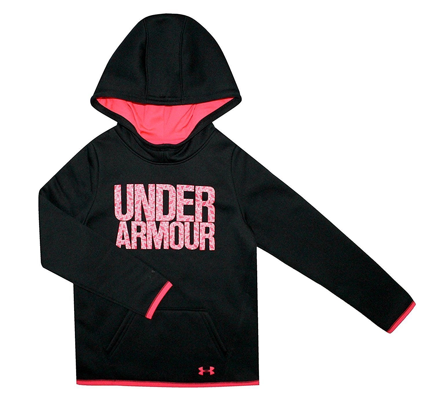 Under Armour Big Girls Youth Athletic Storm Fleece Hoodie Water Resistant X-Small