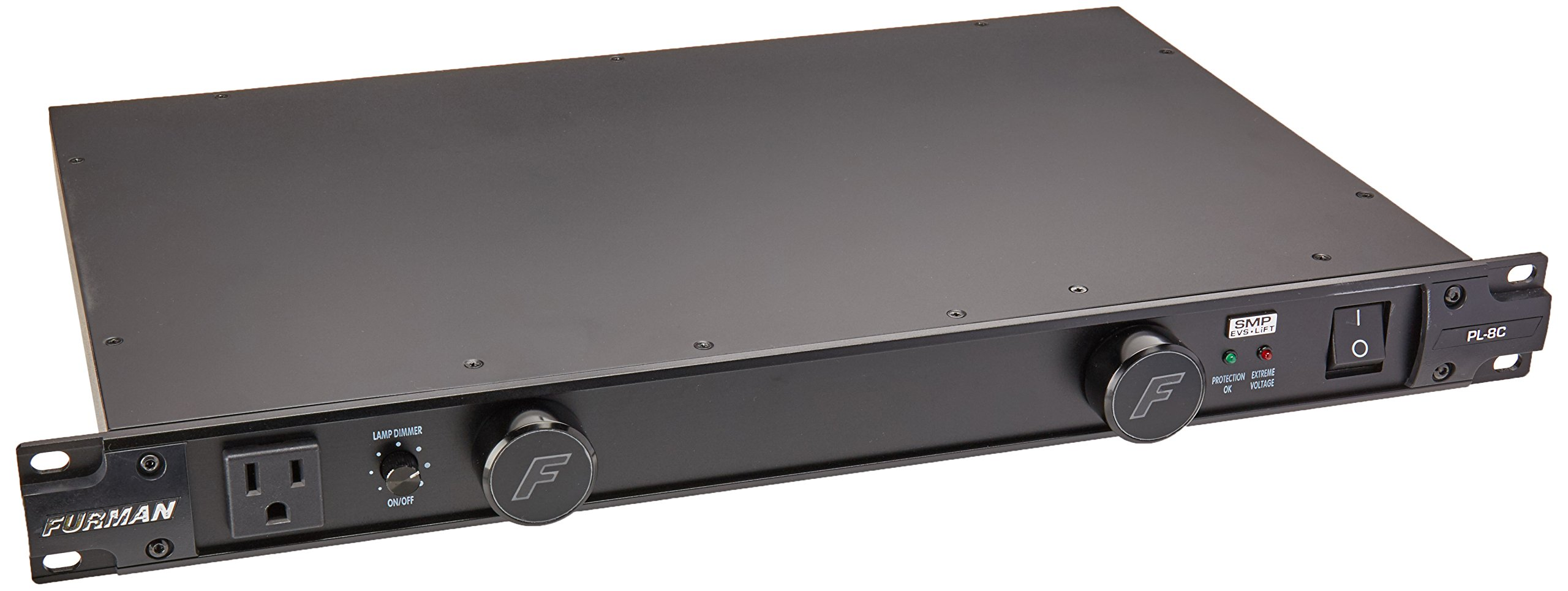 Furman PL-8C 15 Amp, Advanced Level Power Conditioning, SMP, EVS, LiFT,  9 Outlets, Pullout LED Lights, Isolated Outlet Banks