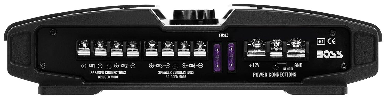 BOSS Audio BOSS PT1000 Phantom 1000W 2 Kanal Klasse-A//B-Verst/ärker