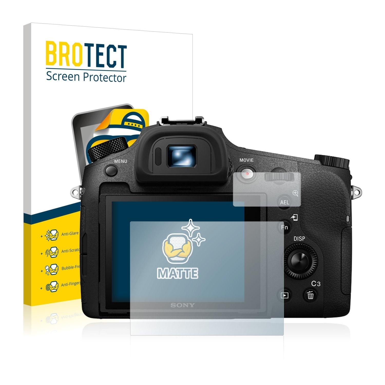 2 Pi/èces BROTECT Protection Ecran Anti-Reflet Compatible avec Sony Cyber-Shot DSC-RX10 III Film Protection Ecran Mat