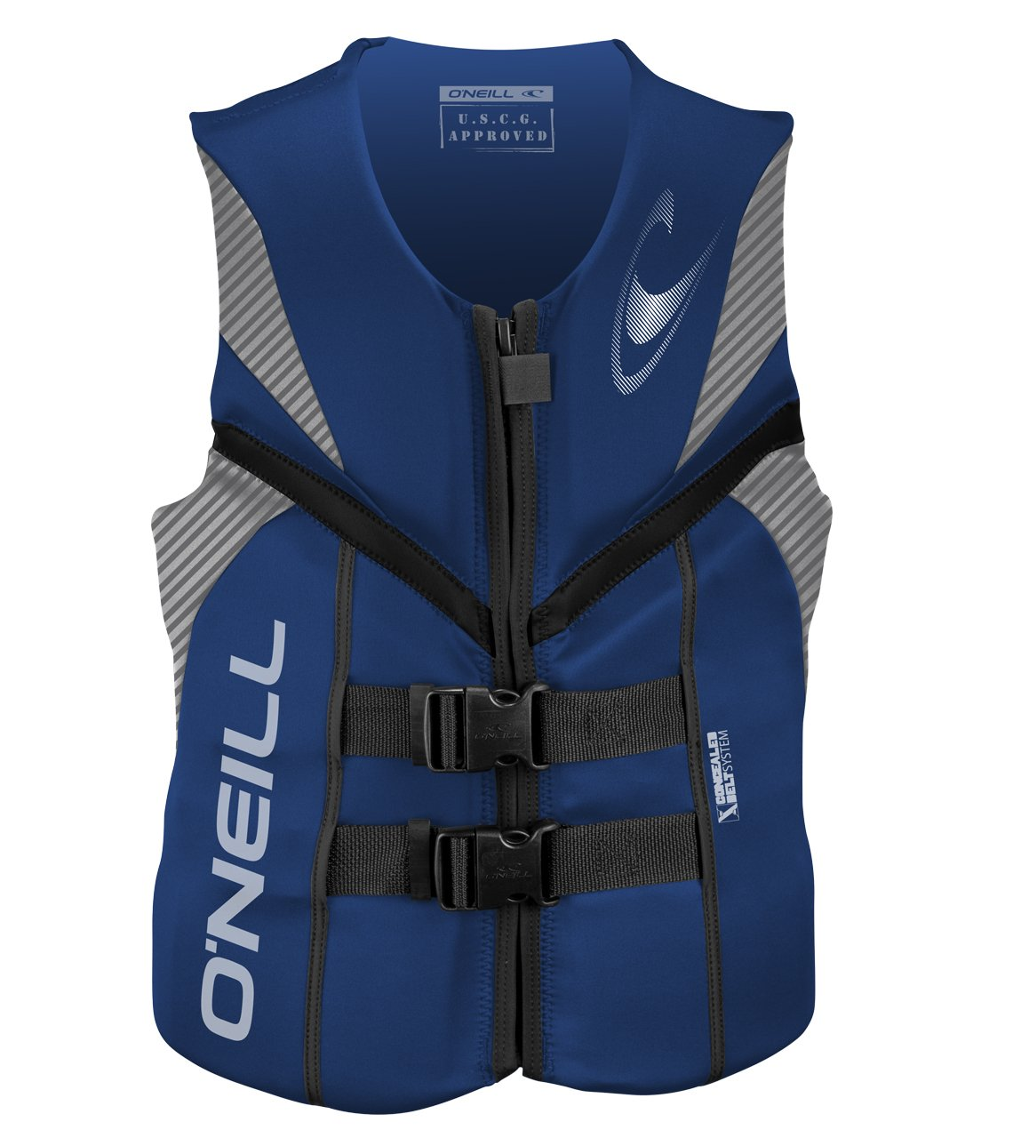 O'Neill   Men's Reactor USCG Life Vest,Pacific/Lunar/Black,Large by O'Neill Wetsuits