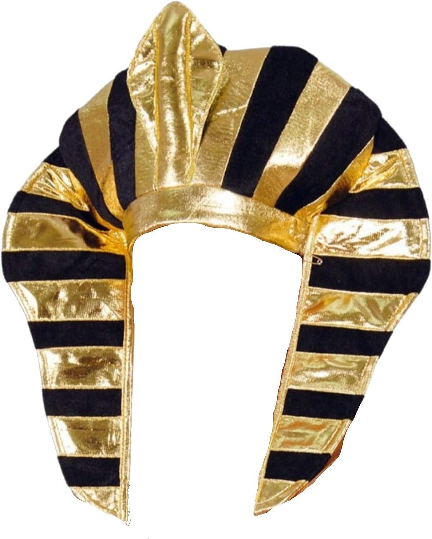 Guirca 13300 - Tocado Faraon Tela: Amazon.es: Juguetes y juegos