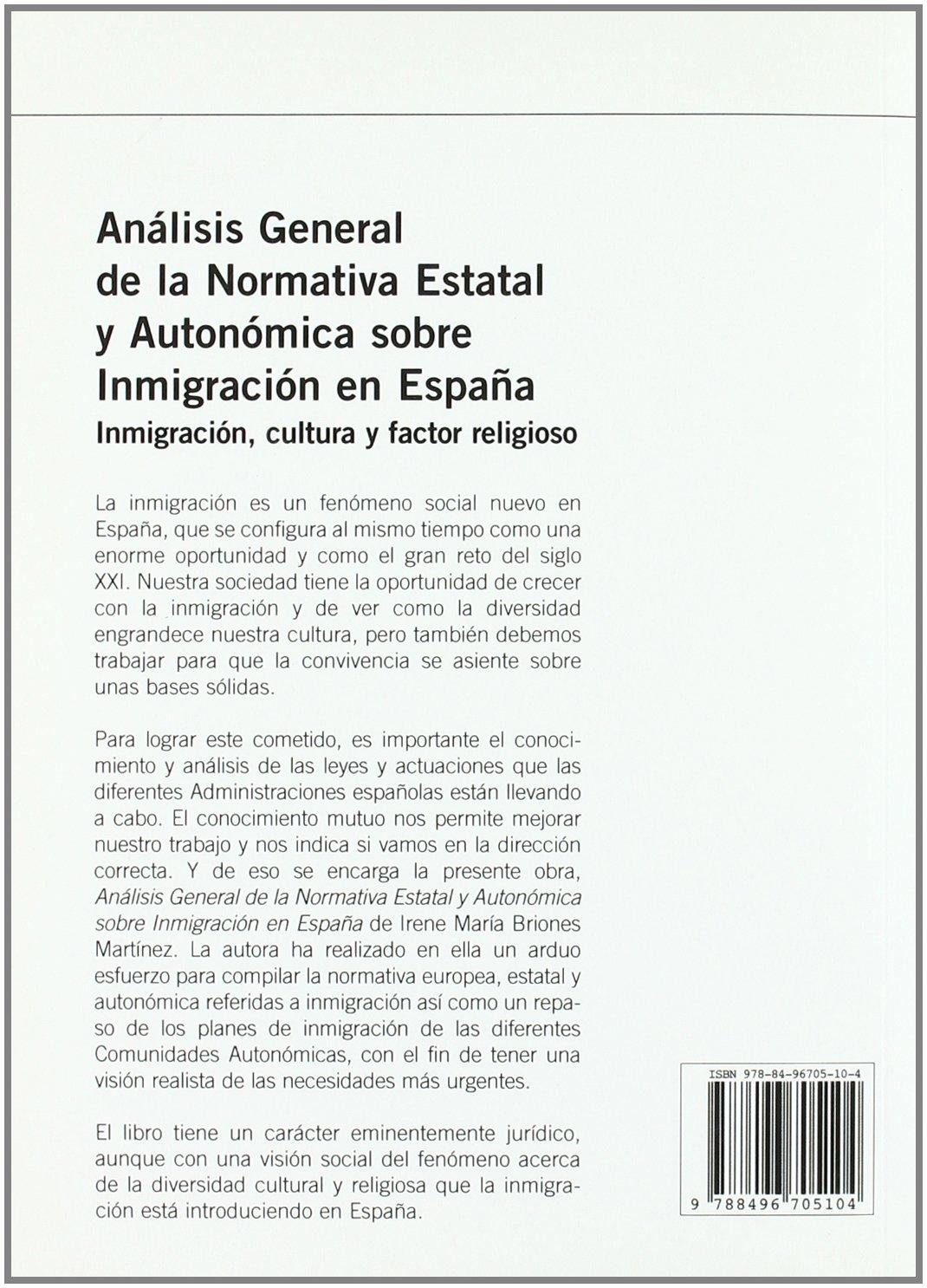 Analisis general de la normativa estatal y autonomica sobre ...
