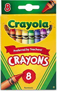 product image for Crayola 52-3008 Crayons Assorted Colors 8 Count