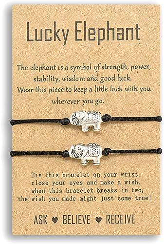 friendship bracelet motivational friend gift cord bracelet string bracelet jewelry animal jewellery bear wish bracelet charm bracelet