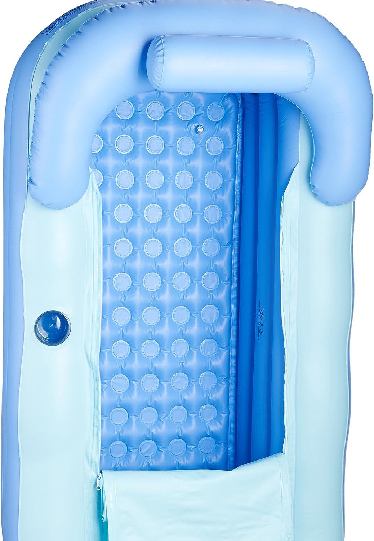 Sfeomi Bañera Hinchable Portátil 160cm Bañera Portátil de PVC para ...