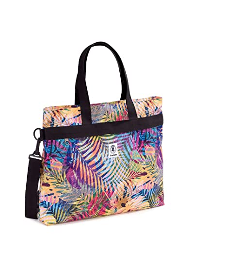 6d2a4d3697 Borsa Donna INVICTA - College Shopper - Tasca interna porta Pc - Tropical