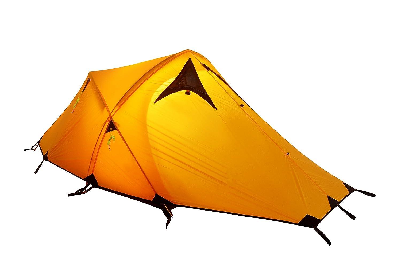 GEERTOP® 2-Personen 3-Jahreszeiten 20D Ultraleicht ein Alpine Camping-Zelt (135(85) x 215 x 100 cm), Ideal für Camping, Klettern, Jagen