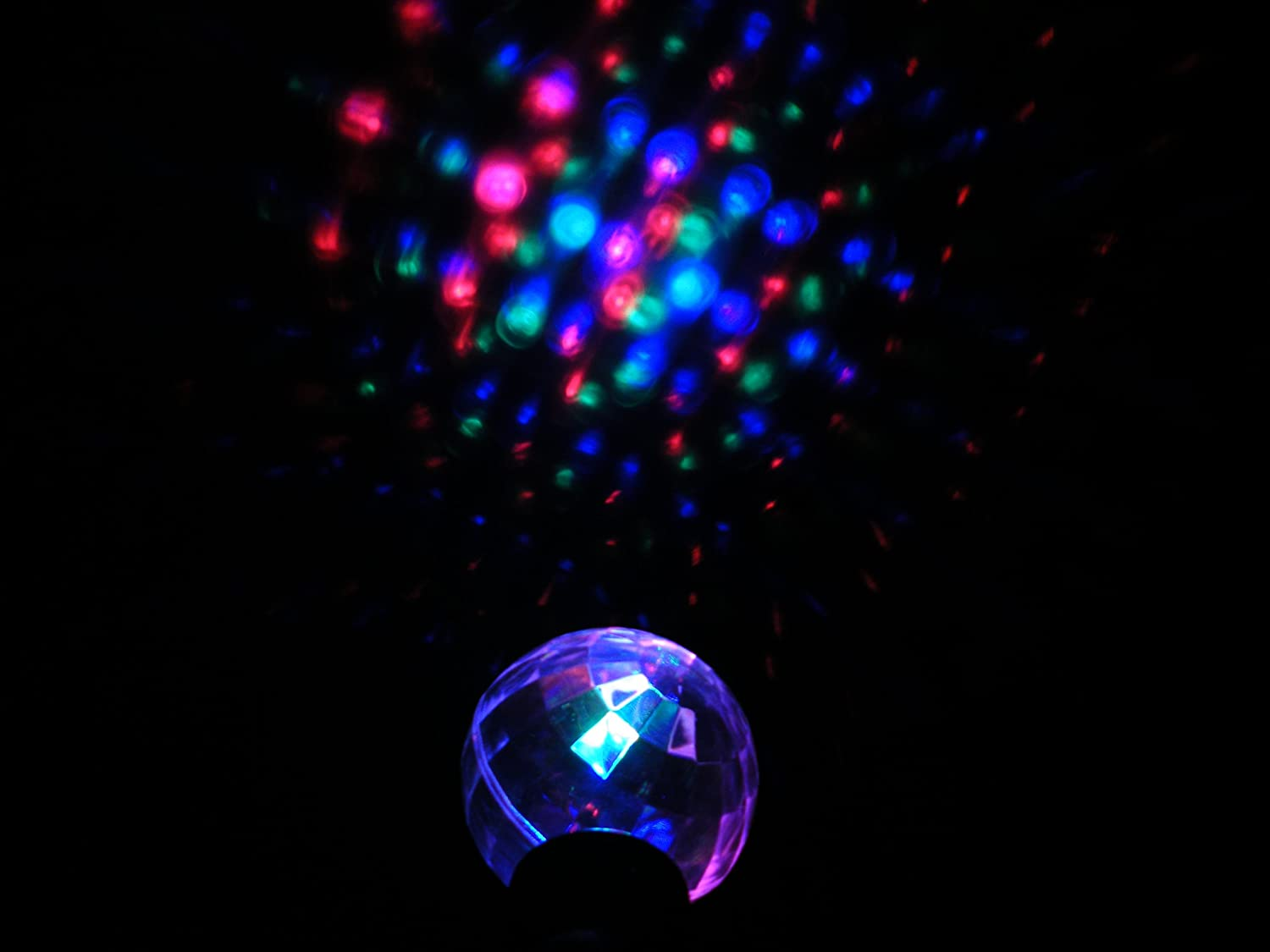 Amazon.com: Flashing Disco Ball Varita: Toys & Games