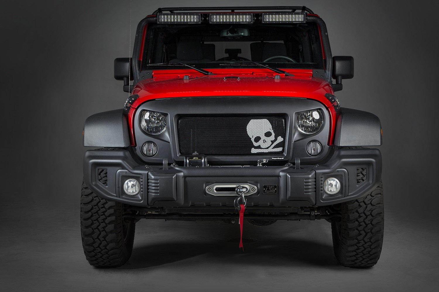 Amazon Rugged Ridge 1203433 Spartan Grille Kit for Jeep – Jeep Spartan Wiring