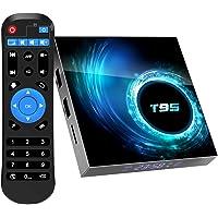 TV Box Android 10.0, TUREWELL T95 Allwinner H616 Quadcore 4GB RAM 64GB ROM Mali-G31 MP2 GPU 6K 3D 2.4GHz WiFi Ethernet…
