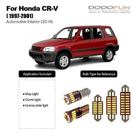 dodofun Deluxe interior LED Kit de iluminación para 2008 – 2012 Chevy Malibu (11-