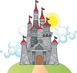 wandmotiv24 Adhesivos de Pared Castillo del Caballero XL - Extra ...
