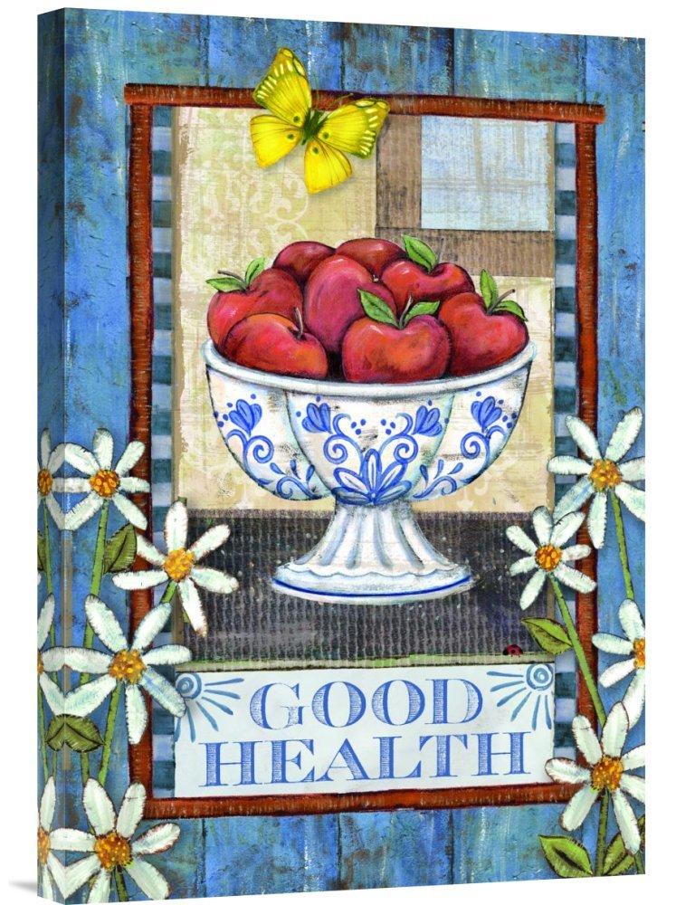 Global Gallery GCS-138683-1624-142 ''Wendy Bentley Good Health'' Gallery Wrap Giclee on Canvas Print Wall Art