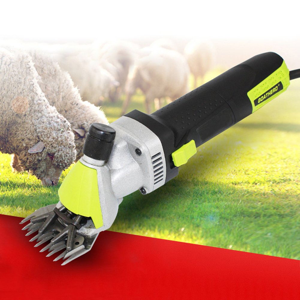 700W Electric Shears Shearing Clipper Animal Sheep Goat Alpaca Livestock Hair Fur Shearing Farm Machine Trimmer