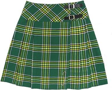 Tartanista - Kilt/Falda Escocesa Cruzado hasta la Rodilla para ...