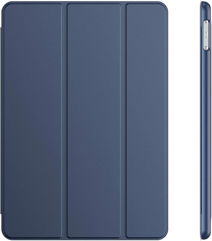 JETech Funda Compatible con iPad 8/7 (10,2 Pulgadas, 2020/2019 Modelo, 8.ª/ 7.ª Generación), Carcasa con Auto-Sueño/Estela, Azul Marino