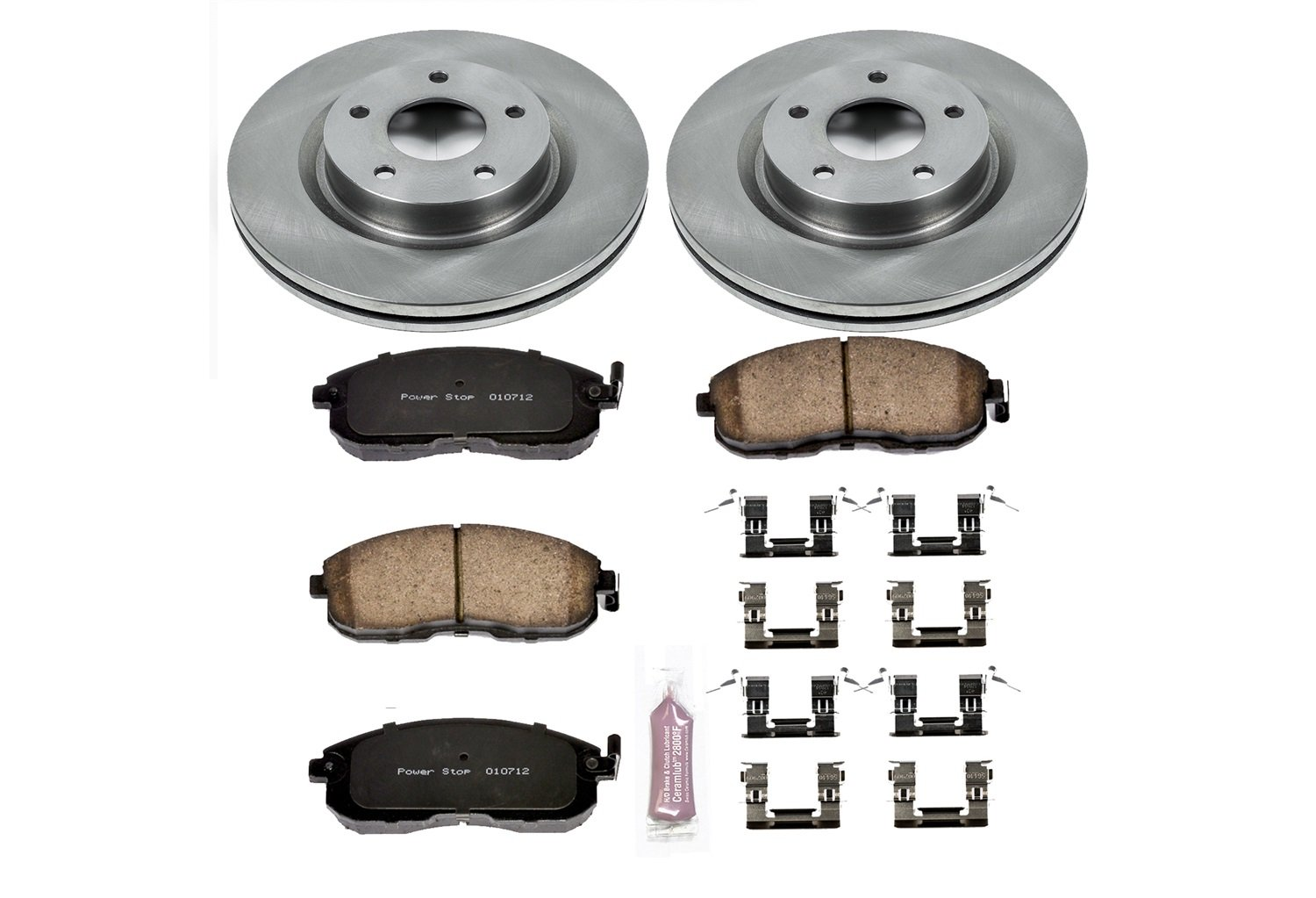Autospecialty KOE241 1-Click OE Replacement Brake Kit Power Stop