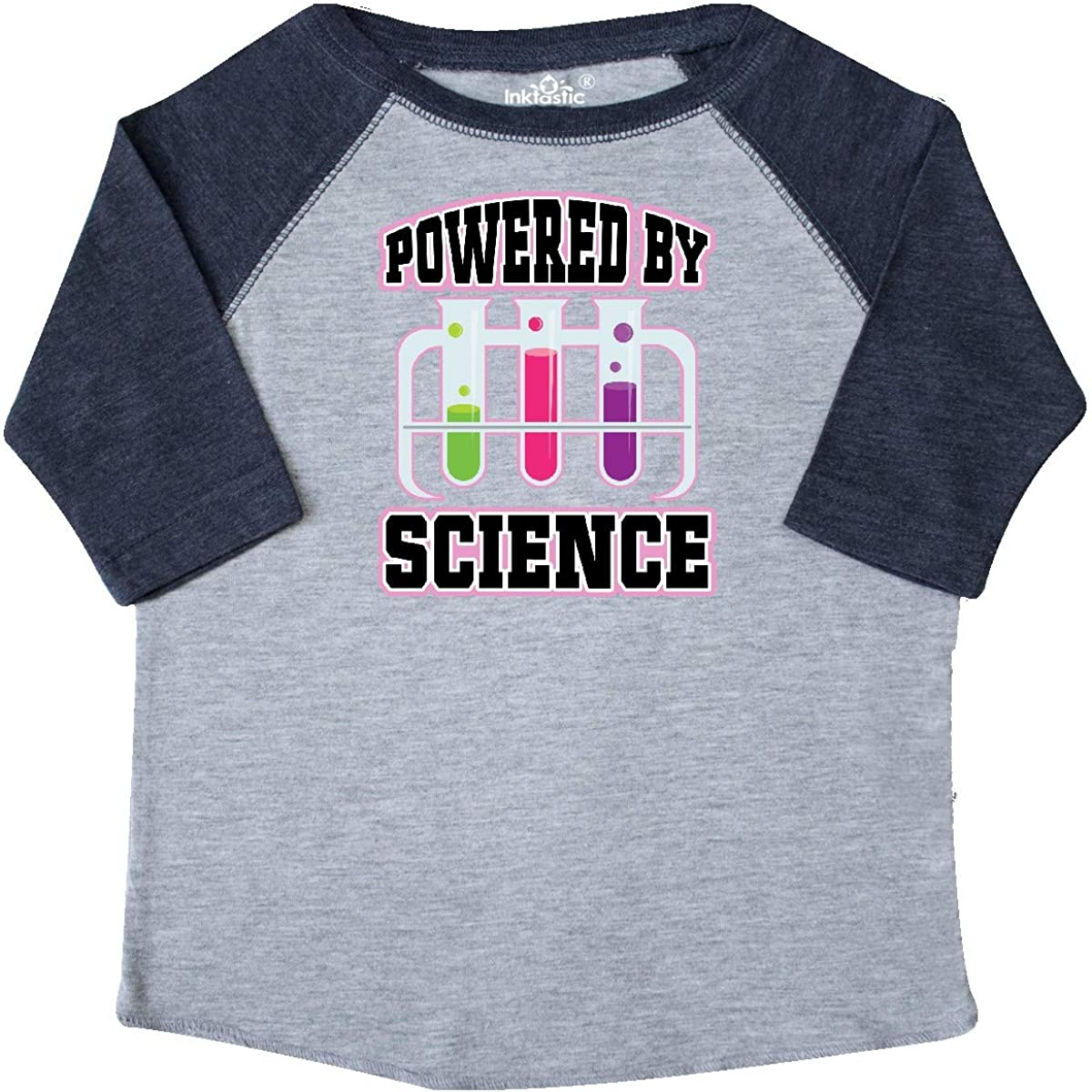 inktastic Powered by Science Toddler T-Shirt