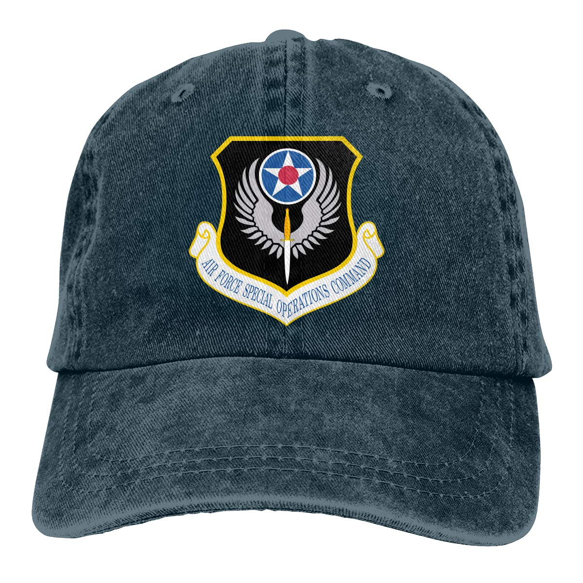 Air Force Special Operations Command Fashion Adjustable Cowboy Cap Baseball Cap for Women and Men