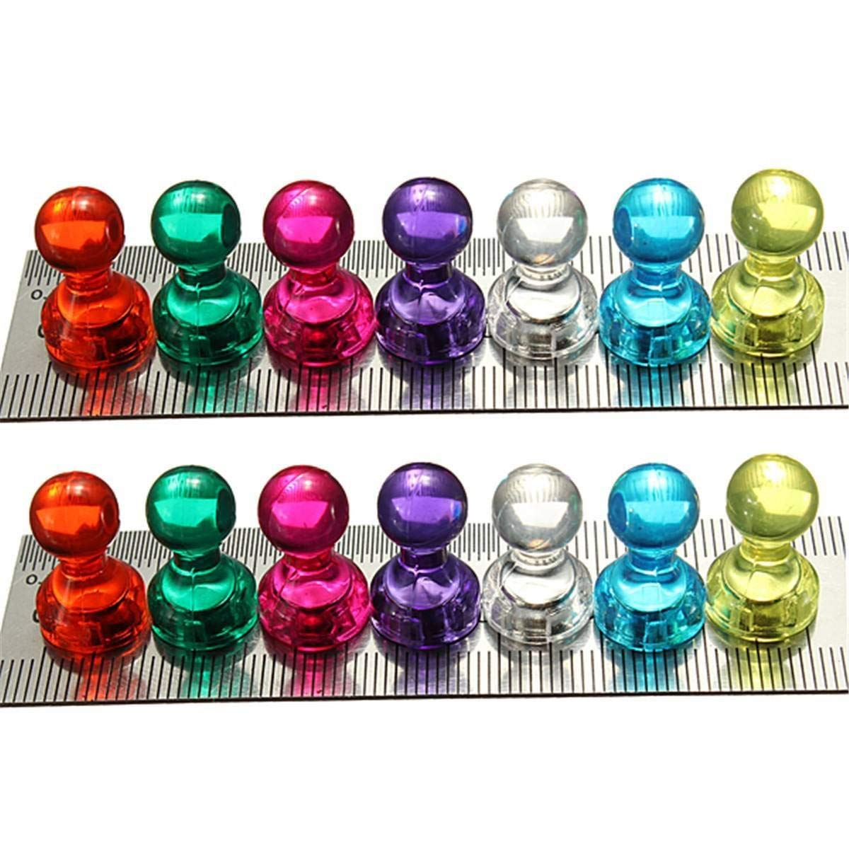 14 Stü ck starke Neodym-Magnete in N35 & 18 x 16 mm Super magnetische Pinnwand Bü ro Schach Deanyi