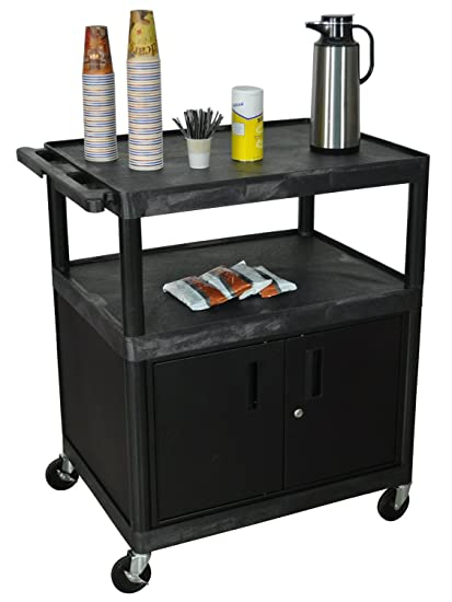 Office coffee cart Office Google Amazoncom Dmd Rolling Coffee Cart With Cabinet Large Black Office Products Amazoncom Amazoncom Dmd Rolling Coffee Cart With Cabinet Large Black