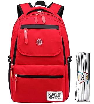 Mochila escolar para niñas niños negocios portátil vida impermeable mochila escolar senderismo mochila de viaje mochila