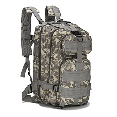 e37b1453b Amazon.com : Eyourlife Military Tactical Backpack Small Rucksacks Hiking  Bag Outdoor Trekking Camping Tactical Molle Pack Men Tactical Combat Travel  Bag 20L ...