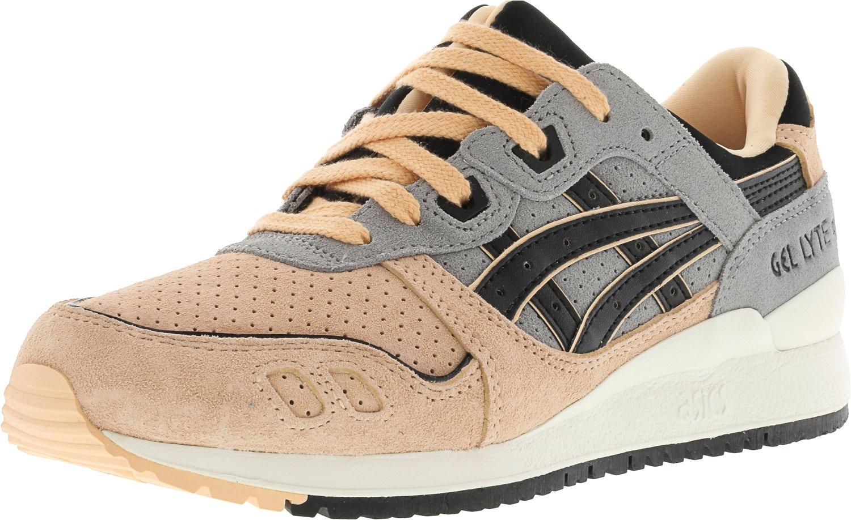 ASICS Men's GEL-Lyte III Sneaker B01K5XNUHQ 7 M US|Mid Grey / Black
