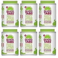 Gluco Tabs Zesty Lemon & Lime 50 Tabs 200g Fast Acting Glucose Glucotabs Tablets (6)