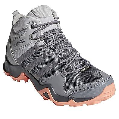 03e3fdf6adec adidas outdoor Terrex AX2R Mid GTX Hiking Boot - Women s Grey Two Grey  Three